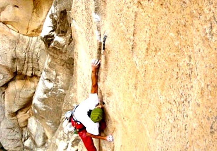 Rock climbing in Gran Canaria