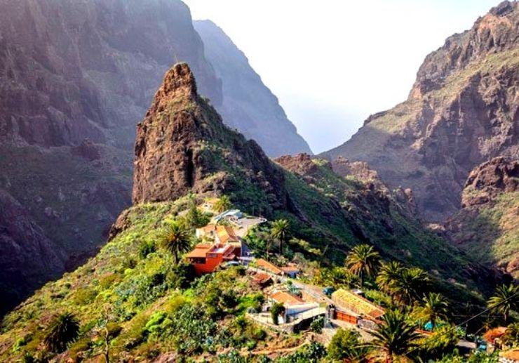 Amazing Masca gorge in Tenerife