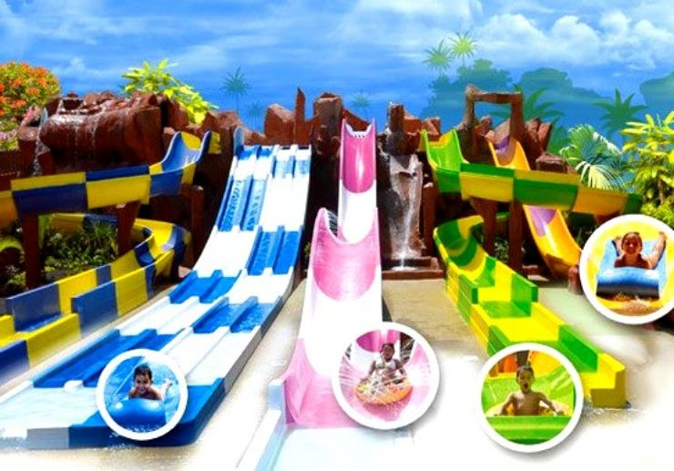 Adventureland for kids in Aqualand Tenerife