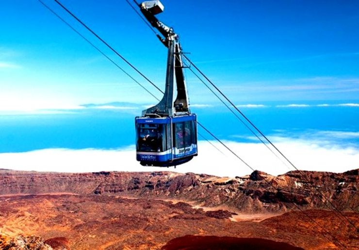 Cable Car on Mount Teide