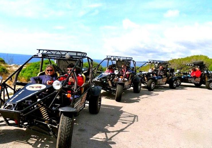 Buggy tour in Mallorca Cala Millor