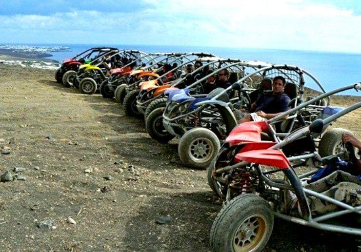 Lanzarote buggy adventure