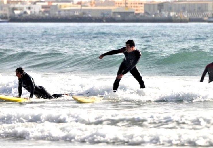 Learn surfing in Fuerteventura