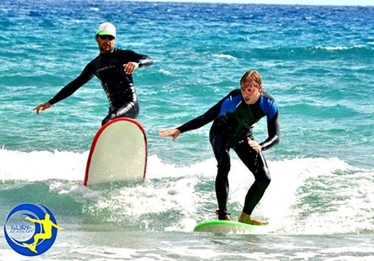 Caleta de Fuste surfing camp Fuerteventura