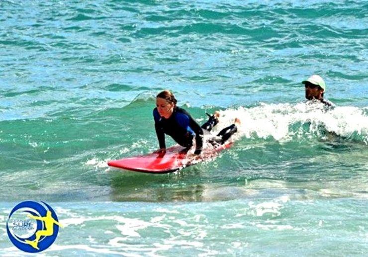Surfing camp Caleta de Fuste Fuerteventura
