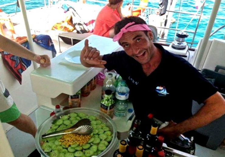 Catamaran sailing with drinks and lunch included