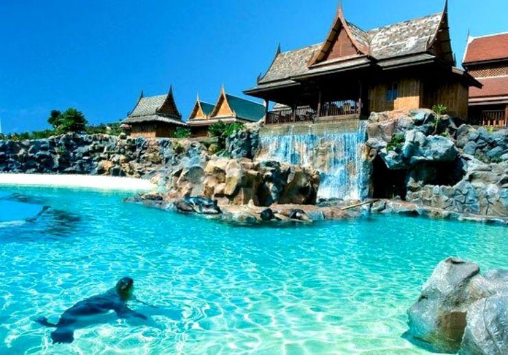 Thai themed Siam Park in Tenerife