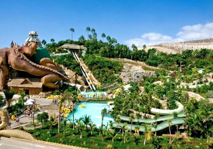 Siam Park water slides and rides in Tenerife