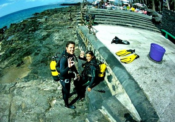 ACUC or PADI Open Water Diver course in Lanzarote