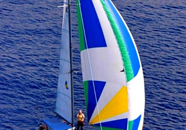 Playa de las Americas Catamaran sailing