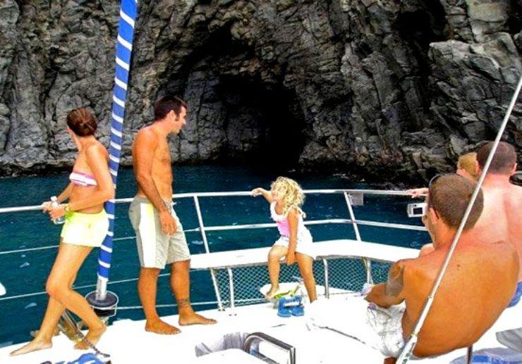 Catamaran cruise trip in Tenerife