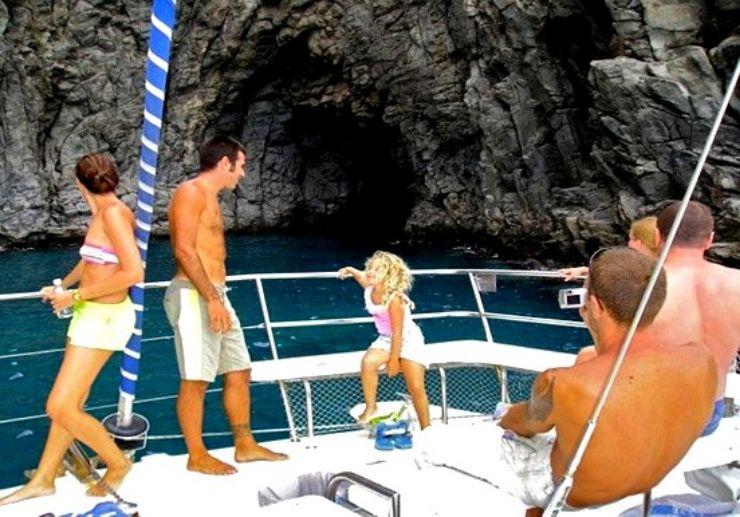 Tenerife catamaran private charter trip