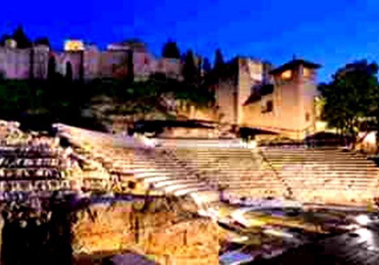 Castillo de Gibralfaro in Malaga city tour