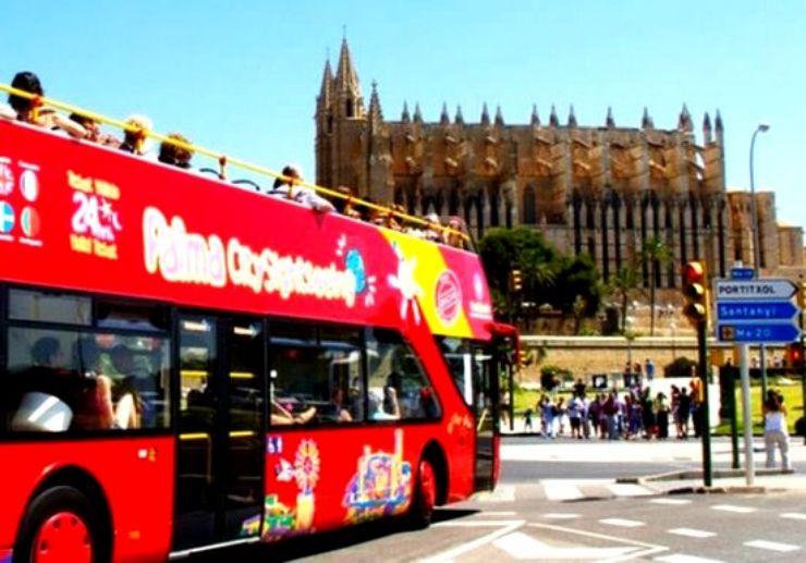 Palma de Mallorca hop on hop off city bus tour