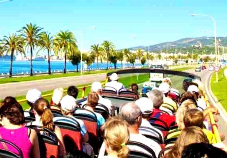 Hop on hop off tour Mallorca