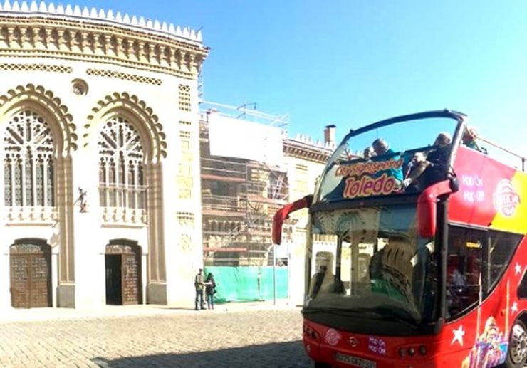 Hop on and Hop off city tour in Toledo