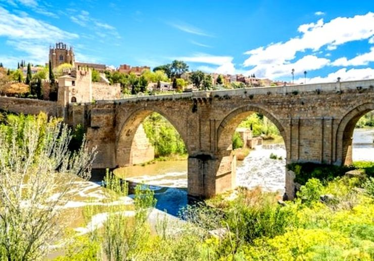 San Martin bridge in Toledo