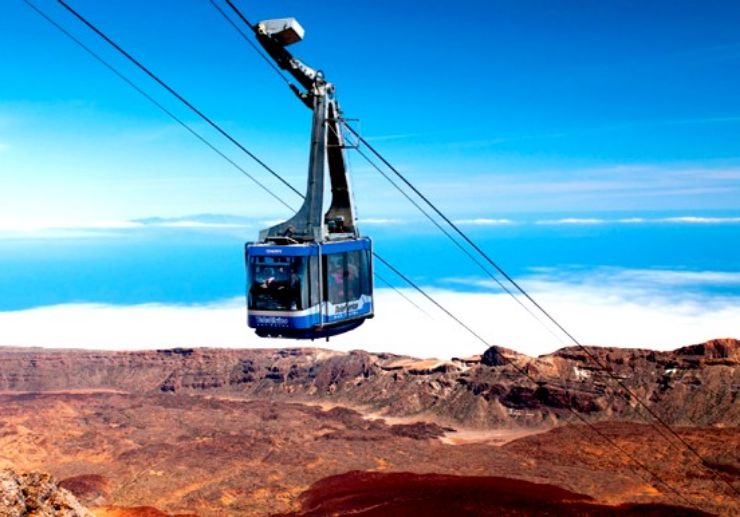 Reach for the clouds on Teide cable car