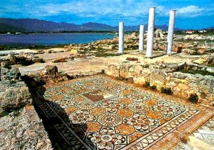 See the ancient Roman city of Nora in Sardinia