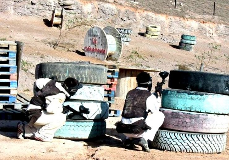 Lanzarote paintball game