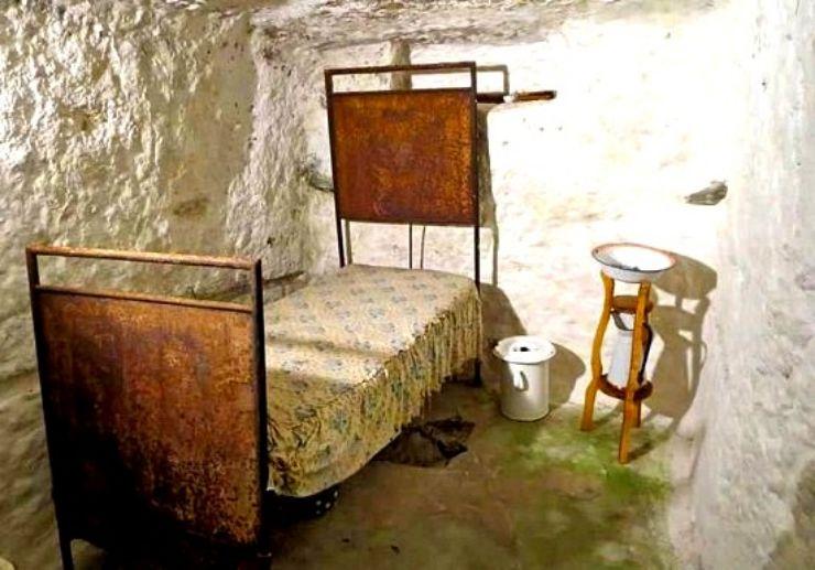 Punic underground necropolis in Sant'Antioco