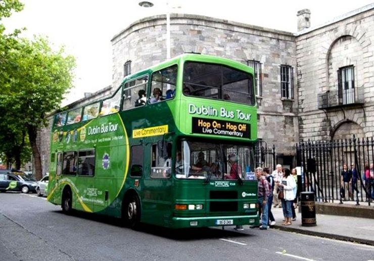 Dublin Hop-on and Hop-off Open-top Bus Tour