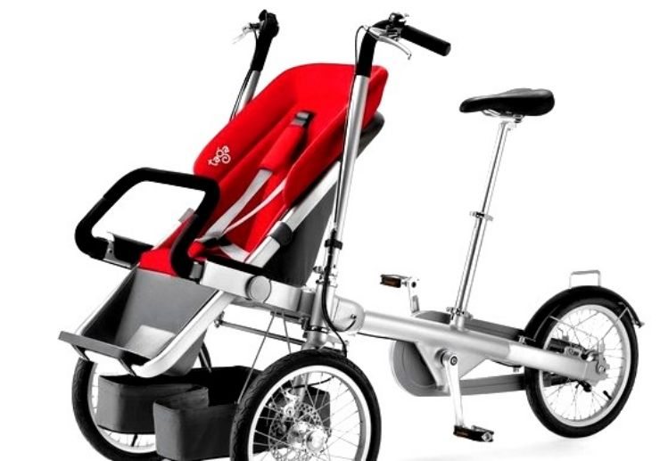 Tagabike with baby stroller rental Maspalomas