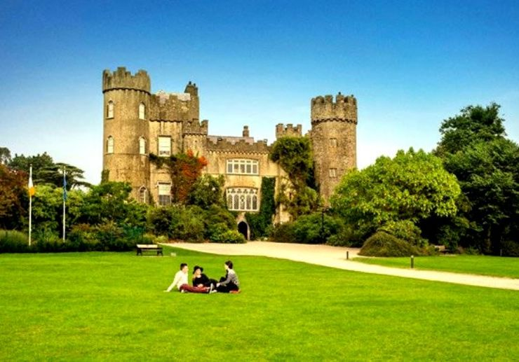 Malahide Castle and Gardens in Dublin