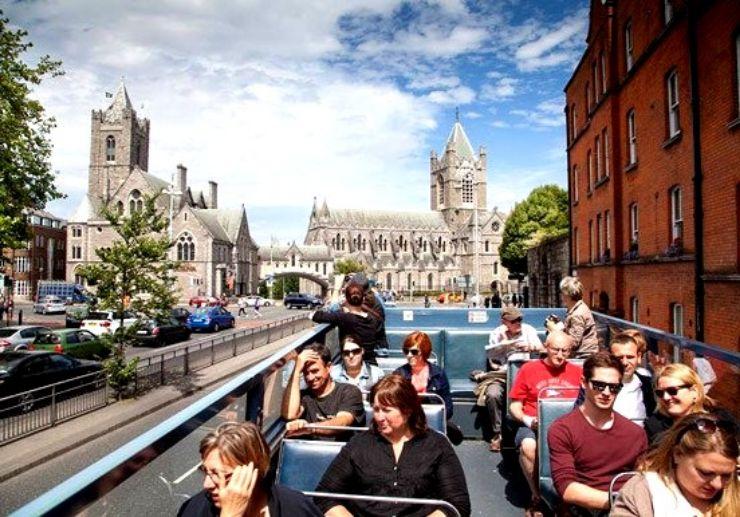 Dublin 72h travel card hop on hop off bus