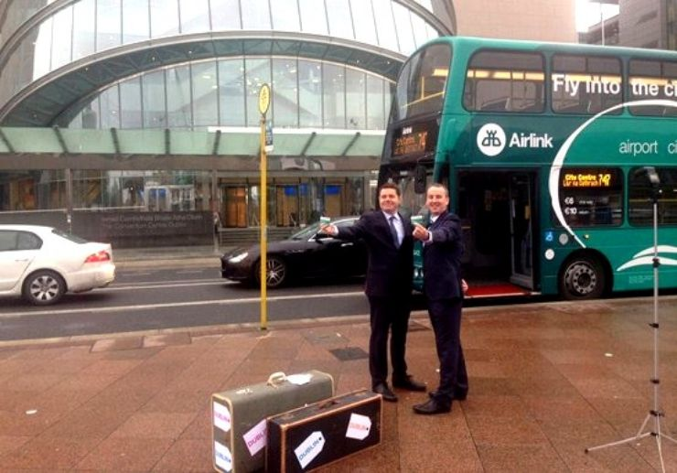 Airlink Express airport bus to Dublin city