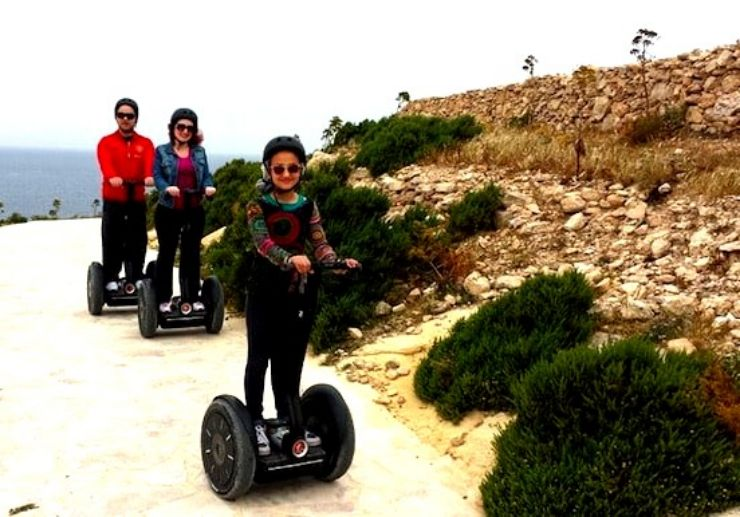 Gozo Segway is ideal for family and friends
