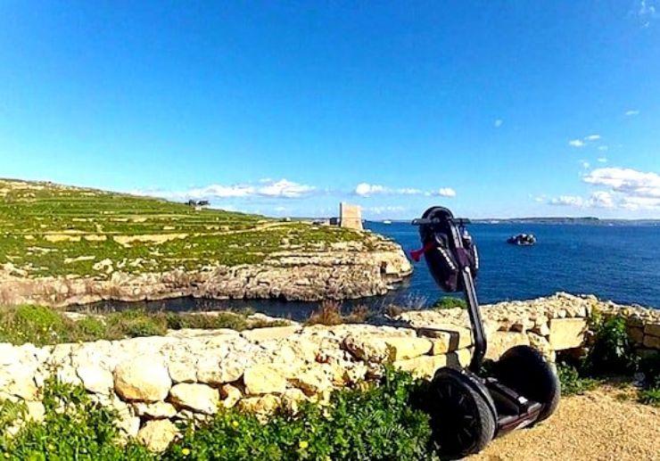 Explore Ta Cenc Sannat on segway tour Gozo