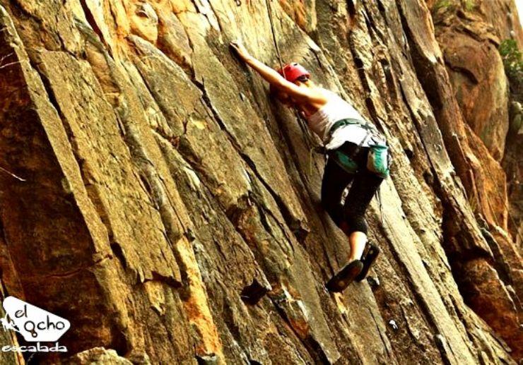 Tenerife guided rock climbing