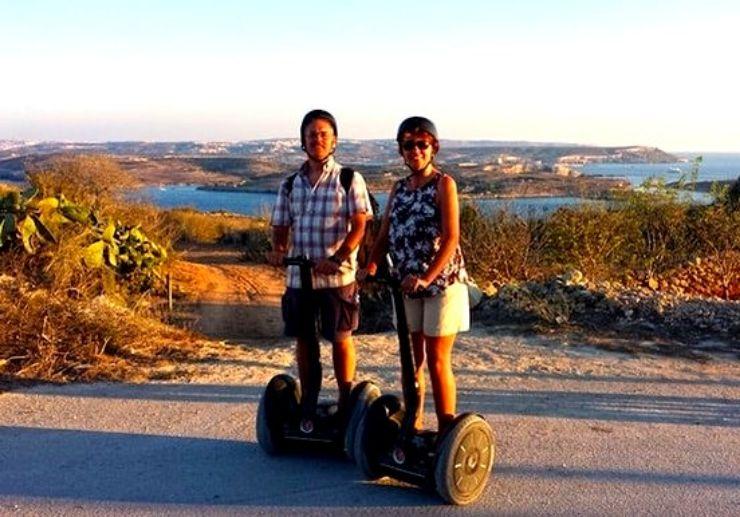 Gozo segway cross country tour