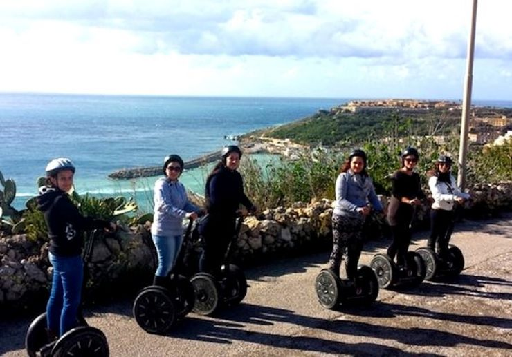 Discover Gozo on a segway