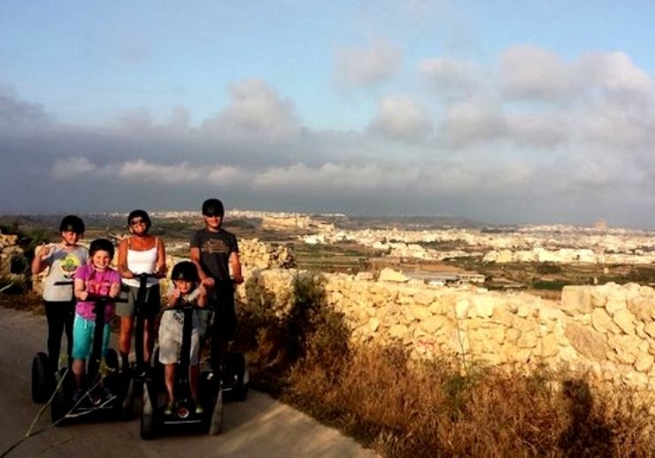 Segway tour ideal for the whole family
