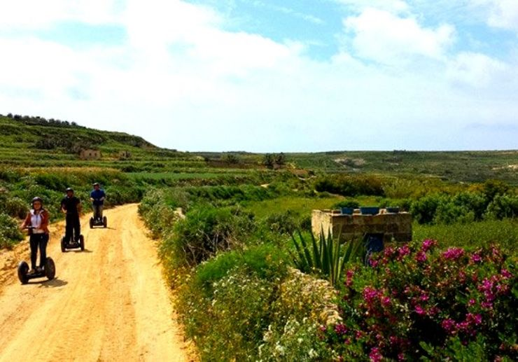 Gozo island segway tour