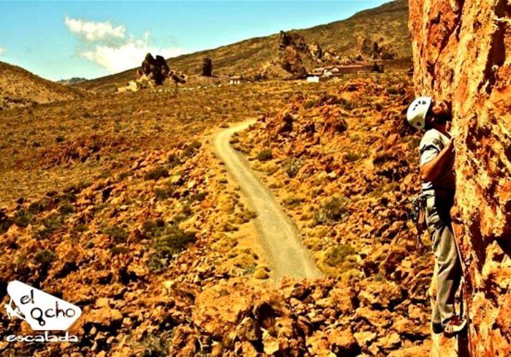 Rock climbing lessons Tenerife