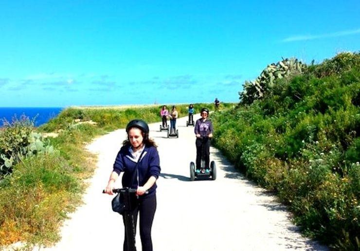 Segway adventure in Gozo island