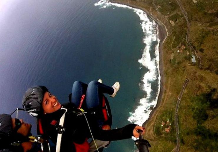 Paragliding from La Corona to Socorro beach