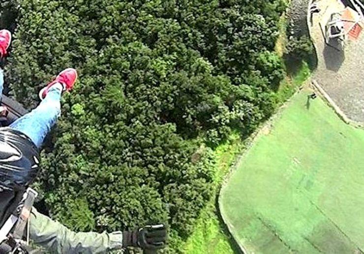 Paragliding Mirador de la Corona Tenerife