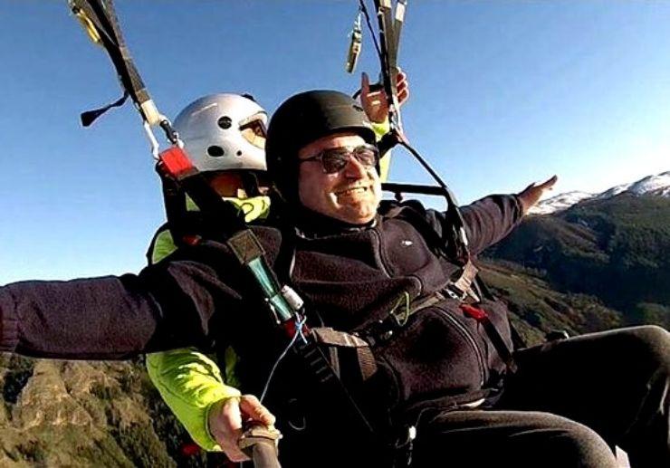 Tandem paragliding Garachico