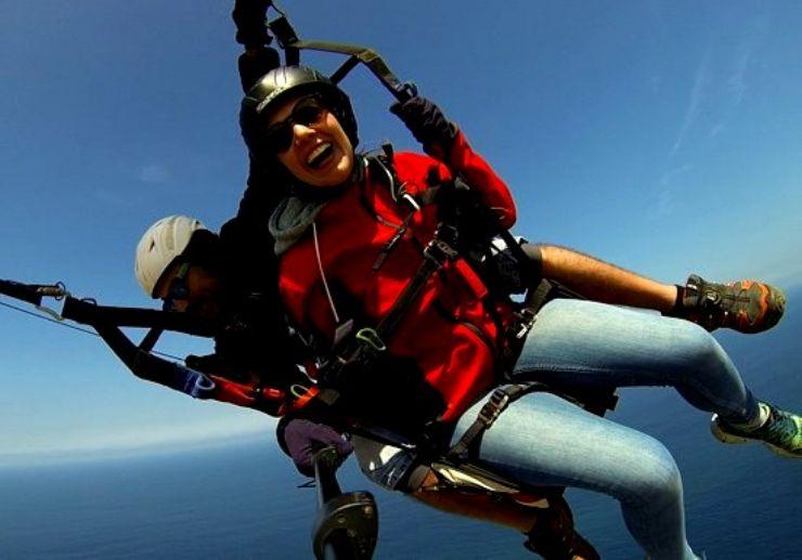 Paragliding adventure in Tenerife sky