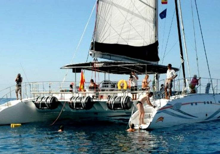 Tenerife catamaran excursion