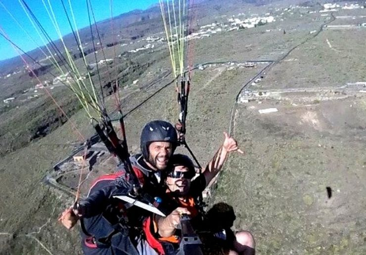 Tenerife Paragliding Taucho route