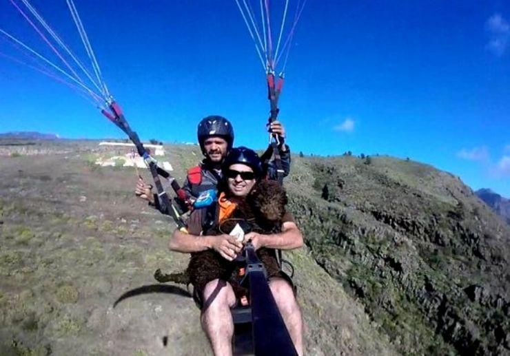Tamden paragliding Taucho