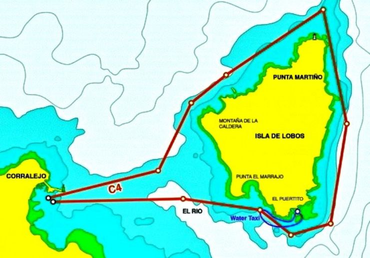 Catamaran private sailing route suggestion