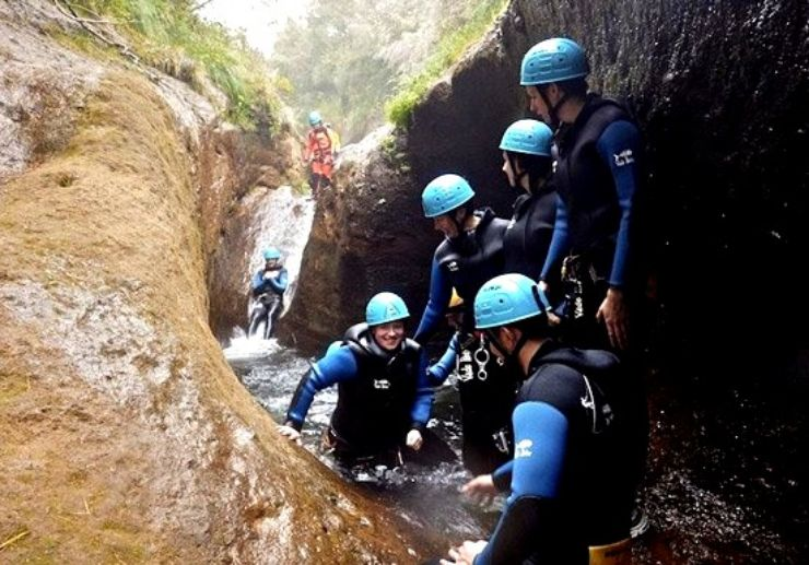 Canyoning for beginners in Madeira
