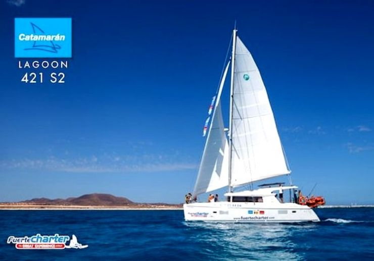 Private charter catamaran Corralejo