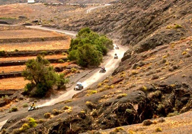 Costa Calma quad and buggy safari tour